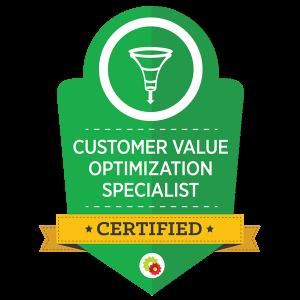 Digital Marketer Certified Customer Value Optimization Specialist