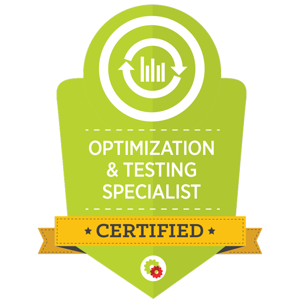 Digital Marketer Optimization and Testing Specialist