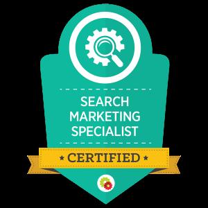 Digital Marketer Certified Search Marketing Specialist
