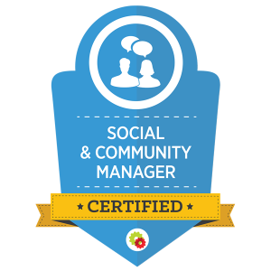 Digital Marketer Certified Social & Community Manager